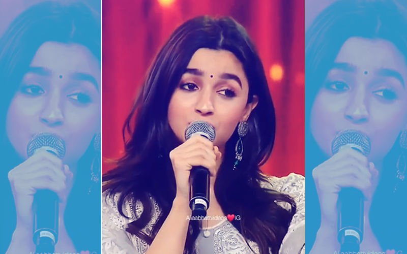 Watch: When Alia Bhatt Sang Boyfriend Ranbir Kapoor's Song – Ae Dil Hai Mushkil
