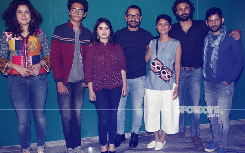 PICS: Aamir Khan Throws A Success Bash For Team Secret Superstar