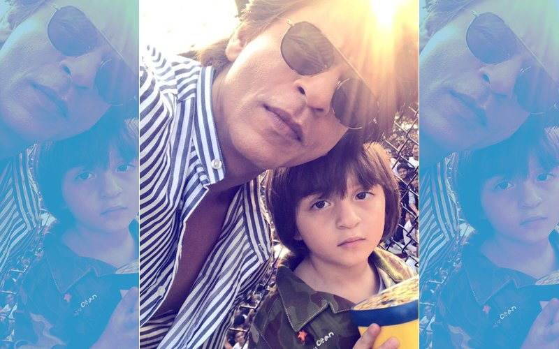 9 Times When AbRam Stole Shah Rukh Khan's Thunder With His Cuteness