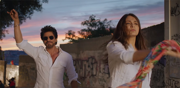 shah rukh khan and anushka sharma in phurrr