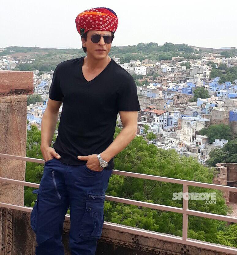 shah rukh khan at jodhpur