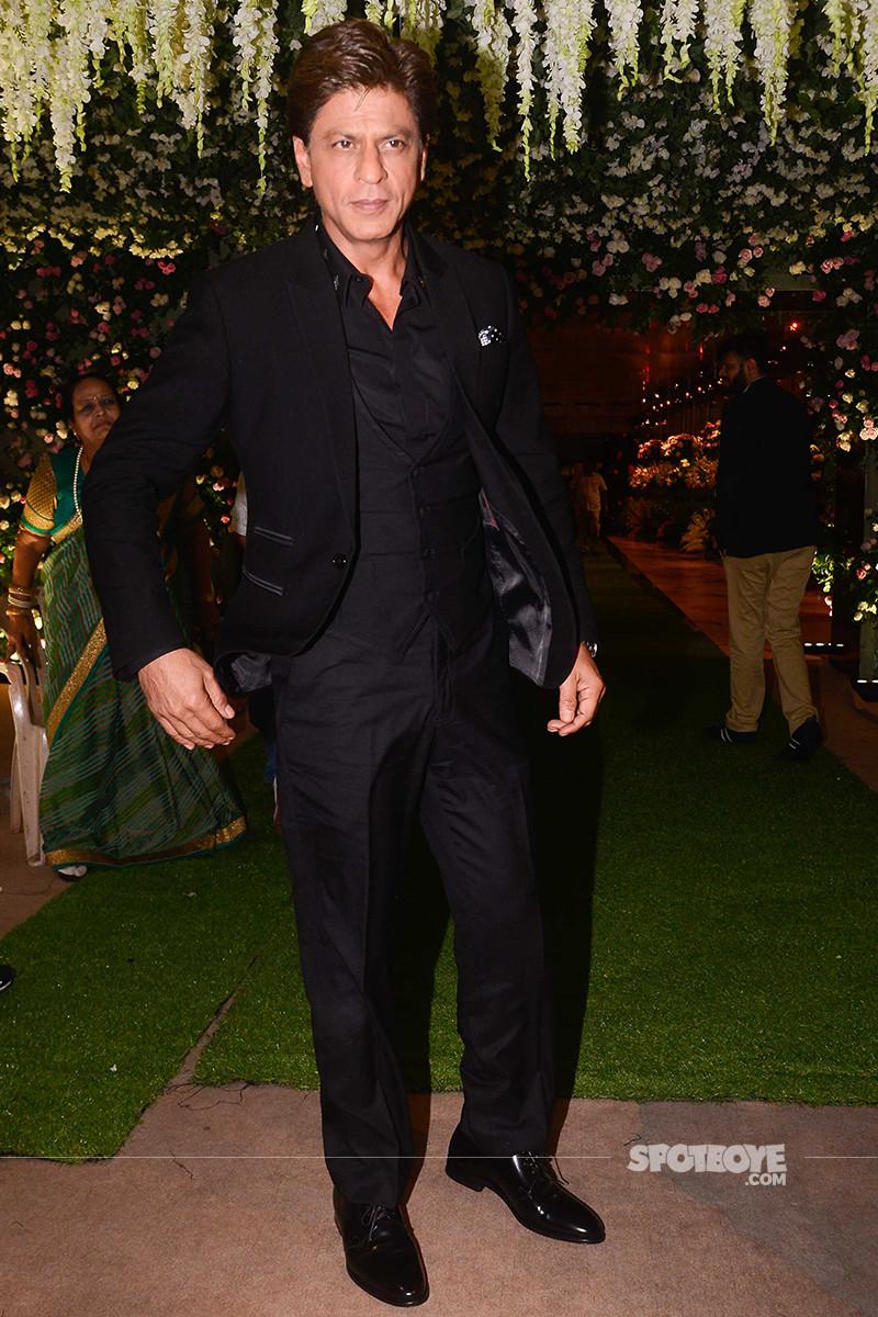 shah rukh khan at poorna patel reception