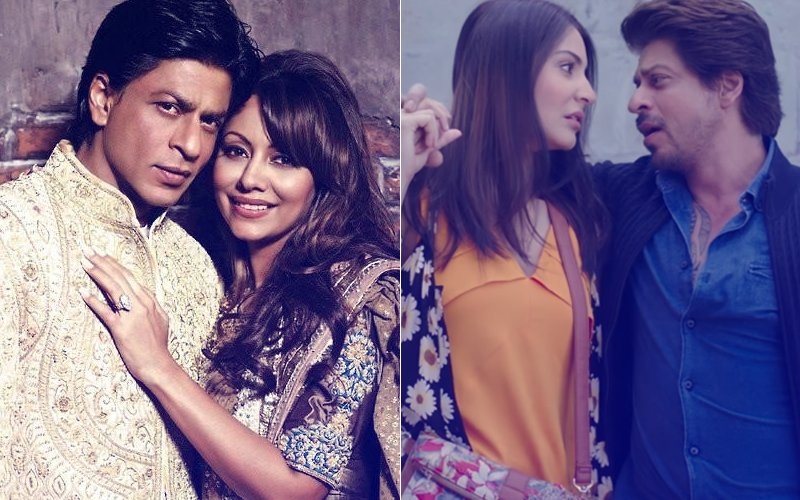Shah Rukh Khan Says That Gauri Khan Has Never Been Insecure About Any Actress