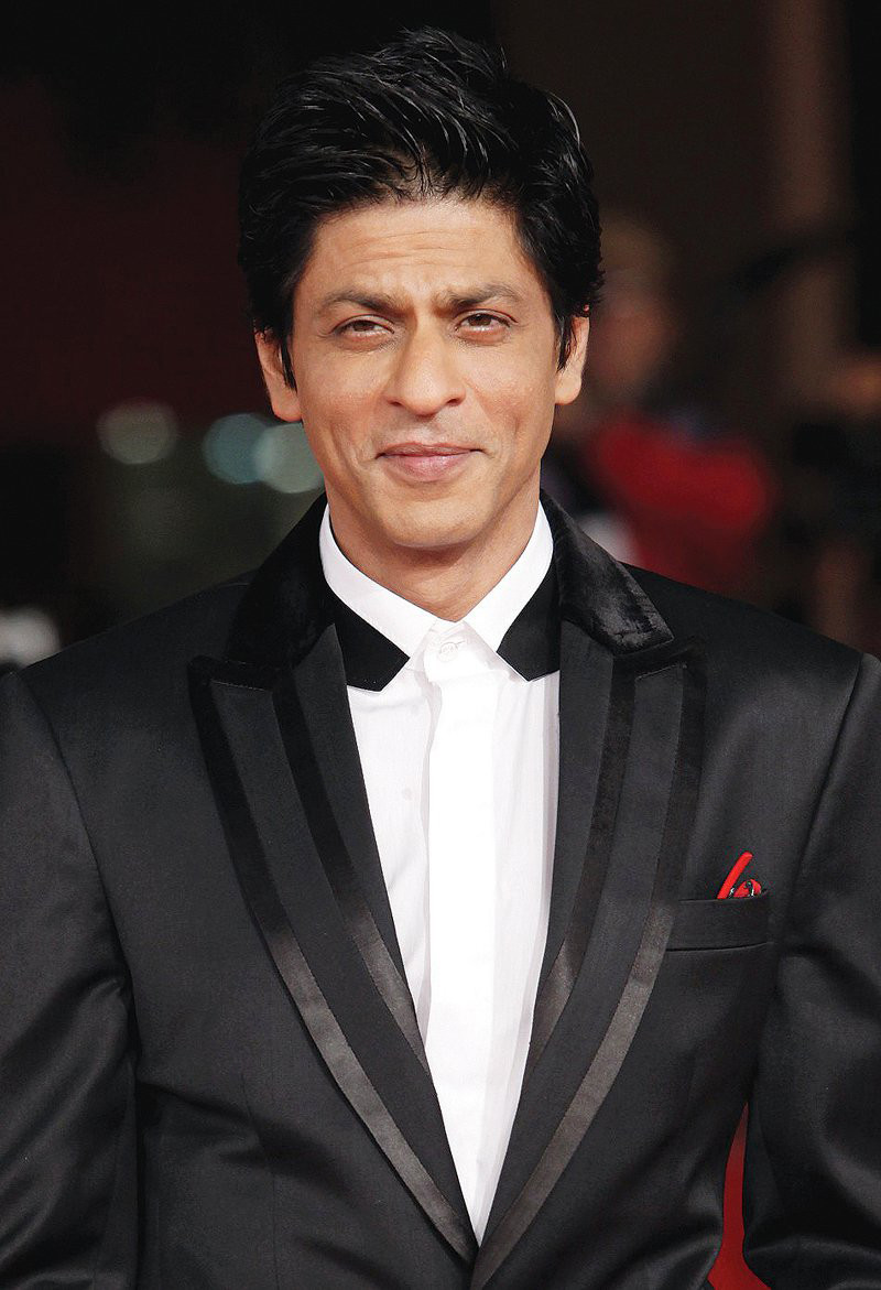 shah rukh khan is the first one to arrive