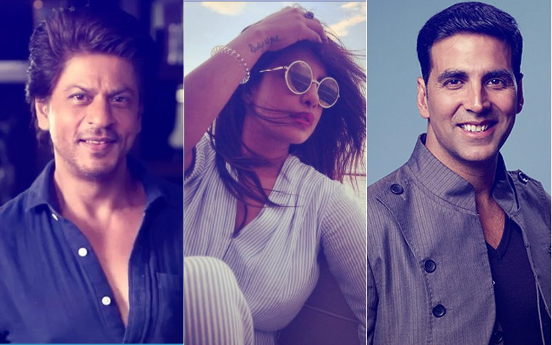 Priyanka Chopra Gives A Shout Out To Shah Rukh Khan, Akshay Kumar