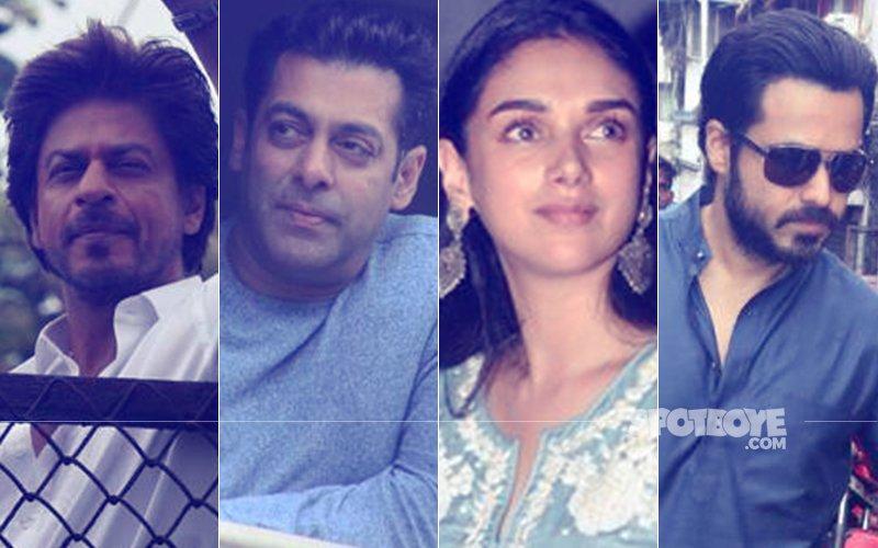 Shah Rukh Khan, Salman Khan, Aditi Rao Hydari, Emraan Hashmi's EID Celebration