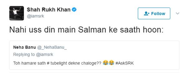 shah rukh khan tweet 1