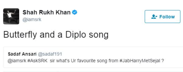 shah rukh khan tweet 5