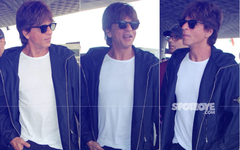 Coolness Personified: Shah Rukh Khan Rocks The Out-Of-Bed Look To Perfection