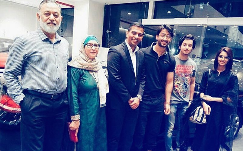 Shaheer sheikh gifts himself a mercedes in presence of parents shaheer sheikh gifts himself a mercedes in presence of parents love erica fernandes reheart Gallery