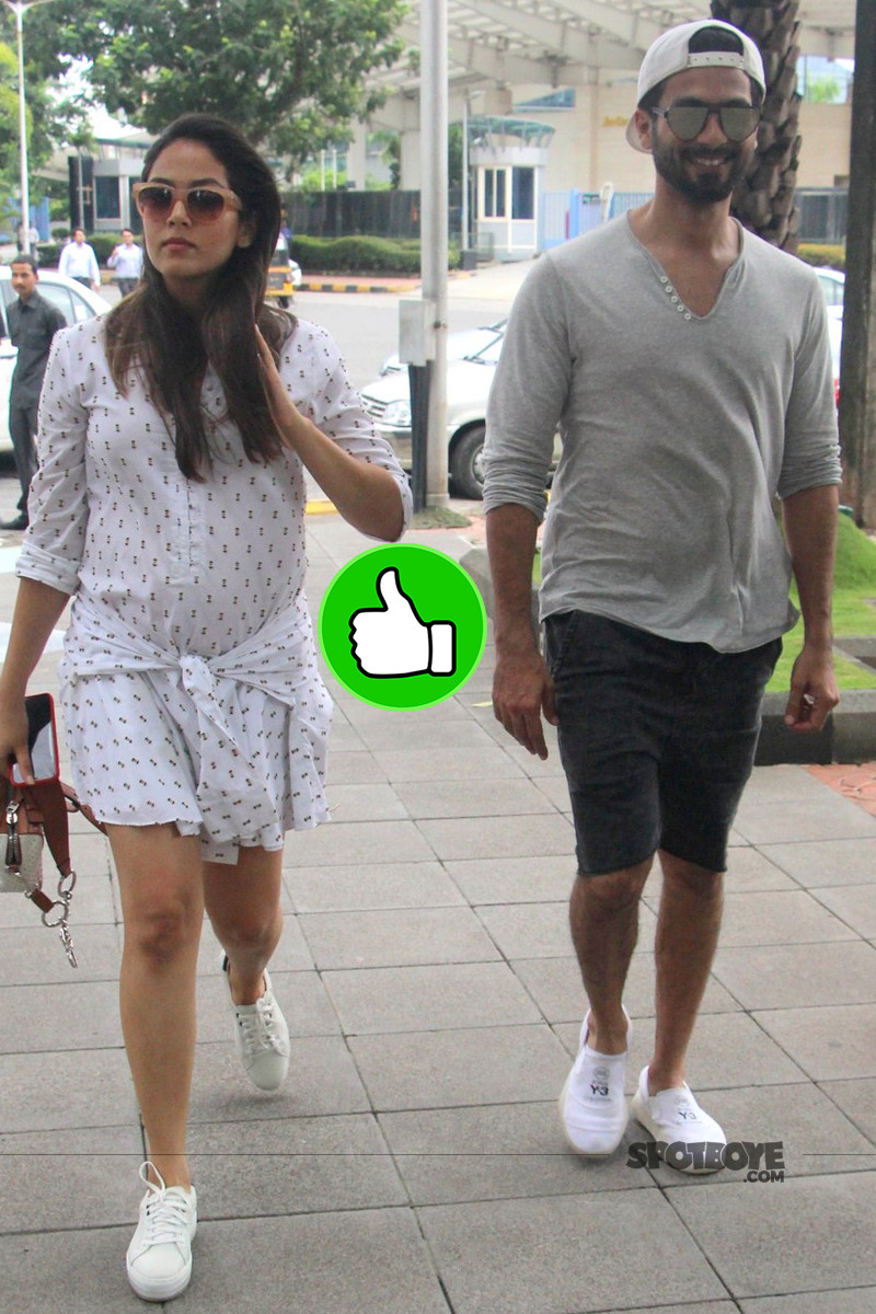 shahid and mira snapped post lunch date
