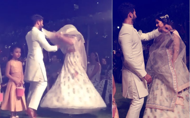 AWKWARD MOMENT: Mira Rajput & Shahid Kapoor Break Into Impromptu Dance AT LFW 2018 BUT...