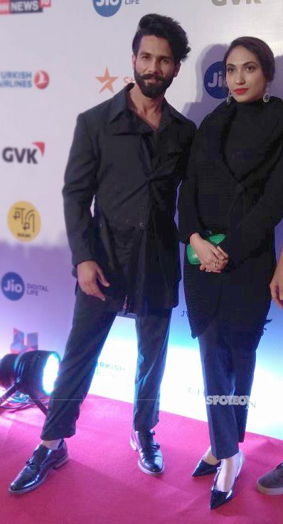 shahid kapoor with prerna arora at mami film festival