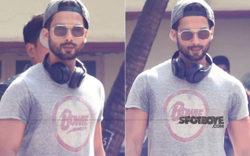 Take Fitness Motivation From Shahid Kapoor, Actor Snapped After A Mean Saturday Workout