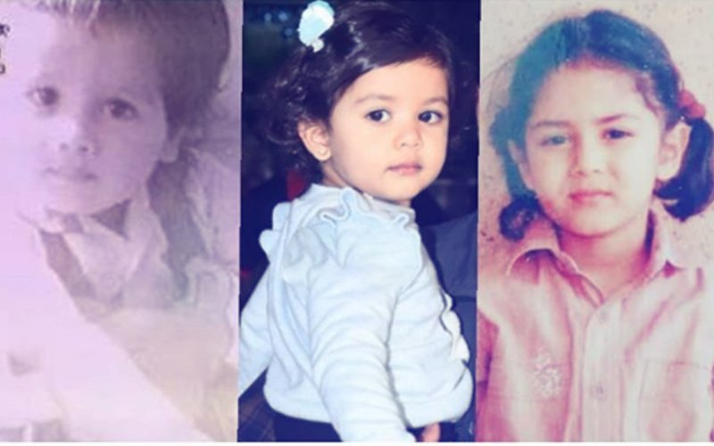 Mira & Shahid's Childhood Pics Prove That Misha Is A Spitting Image Of The Two