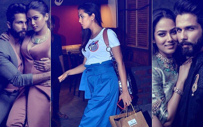 तस्वीरें: क्या सचमुच प्रेगेंट है मीरा राजपूत, या फिर इस ड्रेस का है कसूर