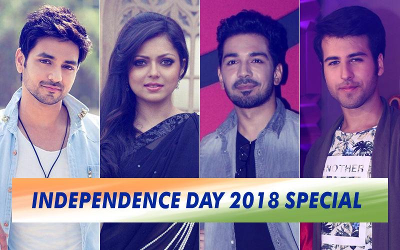 Shakti Arora, Drashti Dhami, Abhinav Shukla & Ritvik Arora Are Drenched In Patriotic Fervour On Independence Day 2018