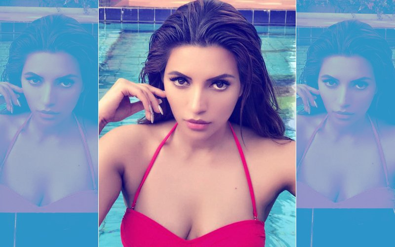 Shama Sikander Is The Perfect Seductress In A Red Hot Bikini