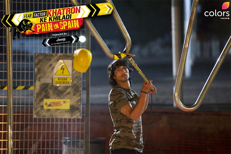 shantanu maheshwari in fear factor khatron ke khiladi pain in spain