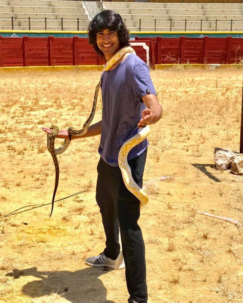 shantanu maheshwari winner of khatron ke hiladi pain in spain