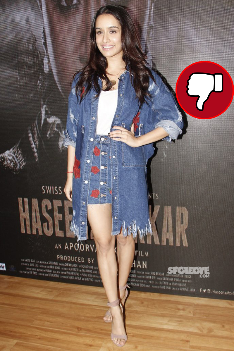 sharaddha kapoor at haseena song launch