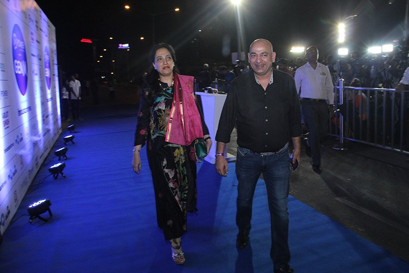 sharmila thackrey at the arijit singh concert