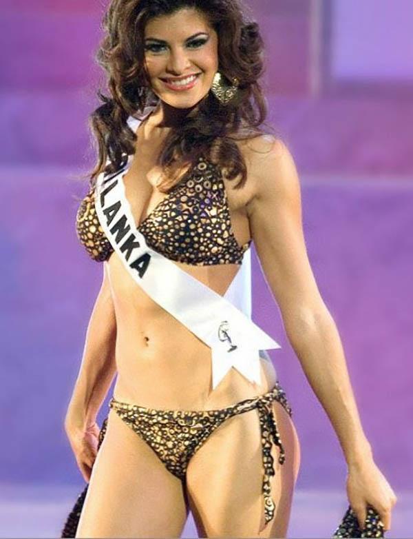 she is miss sri lanka no less