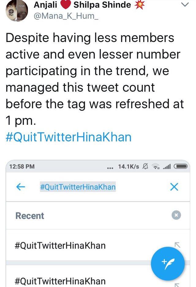 shilpa shinde fans trolling hina khan