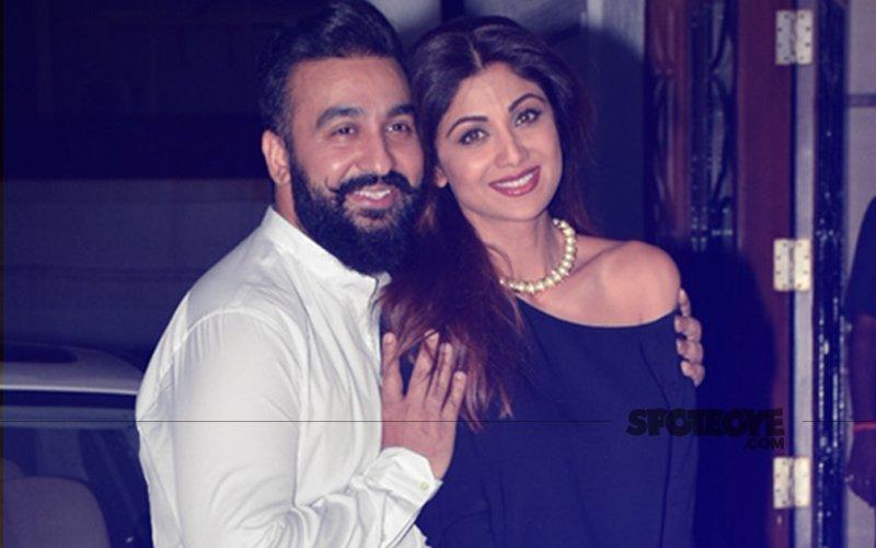 Shilpa Shetty & Raj Kundra Enjoy A Quiet Dinner On Their Wedding Anniversary