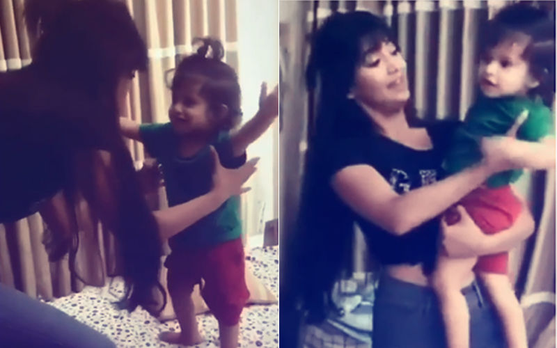 Must Watch: Shivangi Joshi Dances With Shweta Tiwari's Son, Reyansh Kohli