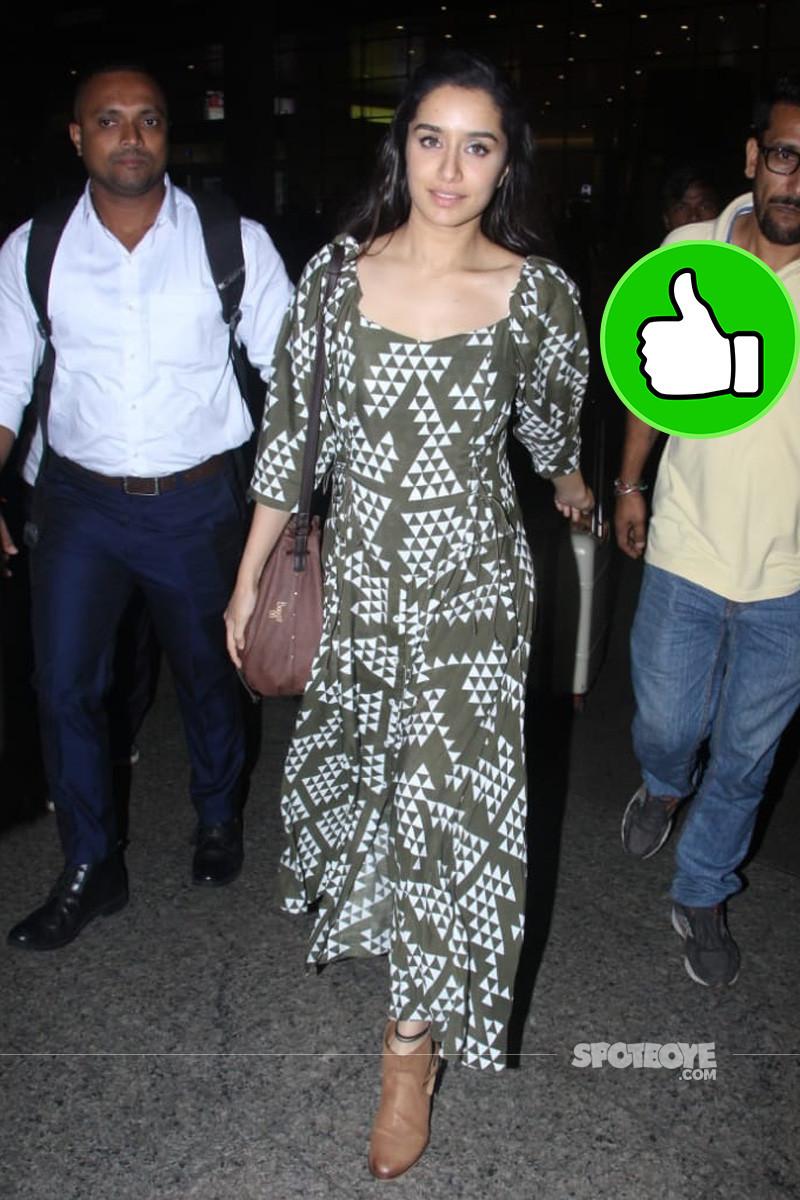shraddha kapoor at the airport