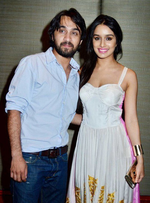 shraddha kapoor with elder brother siddhanth kapoor
