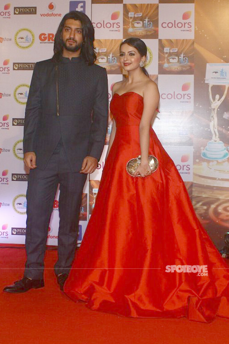 shrenu parikh and kunal jaisingh at the ita awards