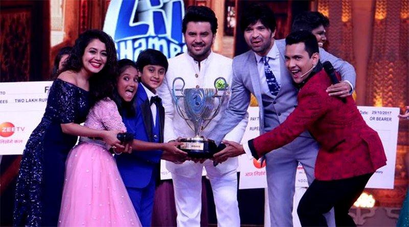 shreyan bhattacharya and anjali gaikwad winners of sa re ga ma lil champs