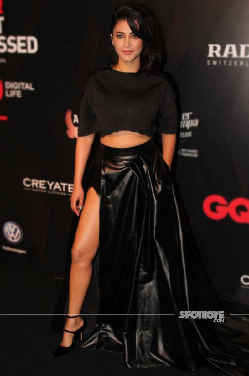 shruti haasan gq awards