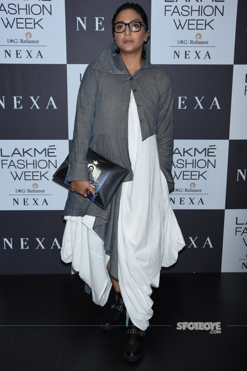 shveta salve at th lakme fashion show