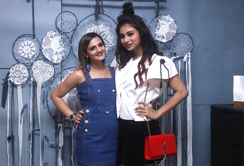 shweta rohira and mouni roy