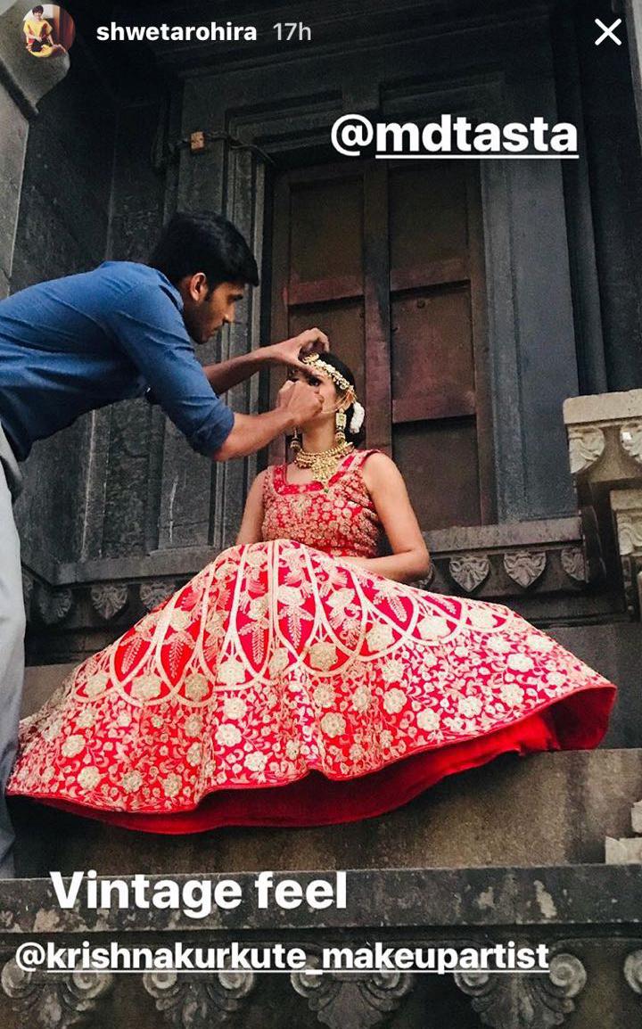 shweta rohira becomes a bride again