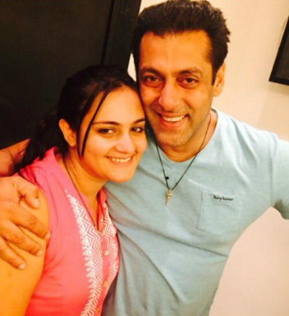 shweta rohira with salman khan