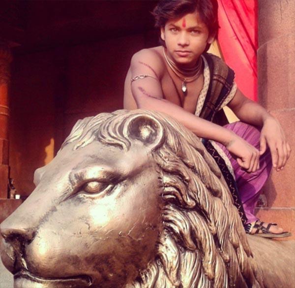 siddharth nigam in and as chakravarthin ashoka samrat