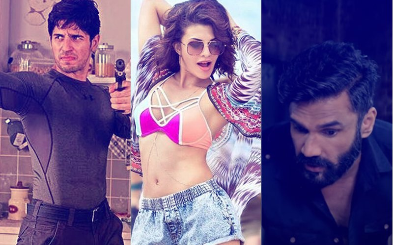 A Gentleman - Sundar, Susheel, Risky Trailer: Sidharth Malhotra, Jacqueline Fernandez & Suniel Shetty Are Rough, Tough & Sexy