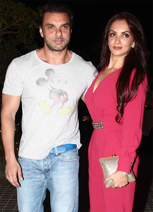 sohail khan and wife seema