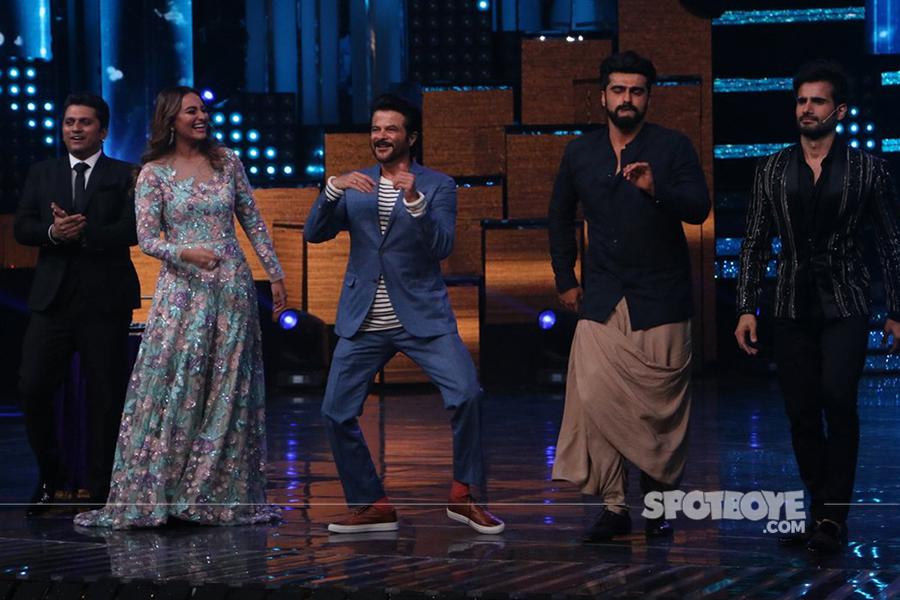 sonakshi sinha anil kapoor arjun kapoor dancing