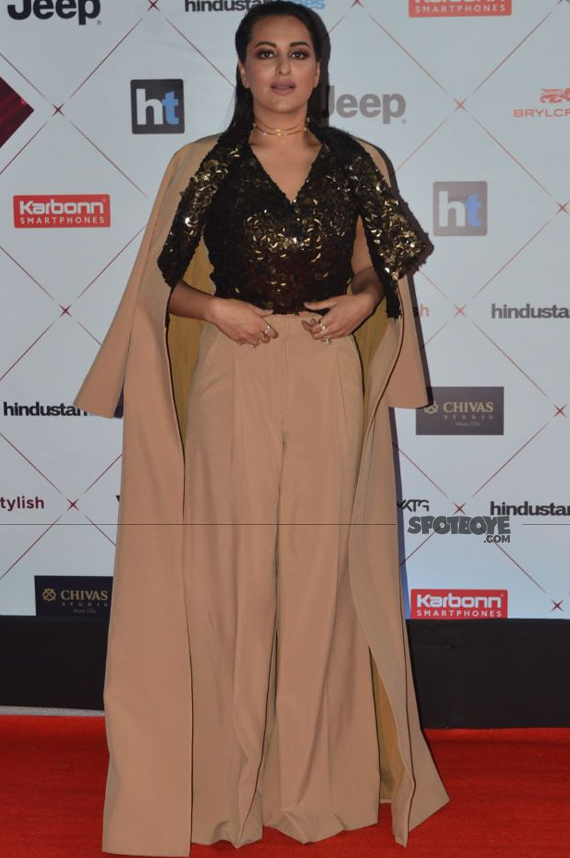 sonakshi sinha at ht most stylish awards