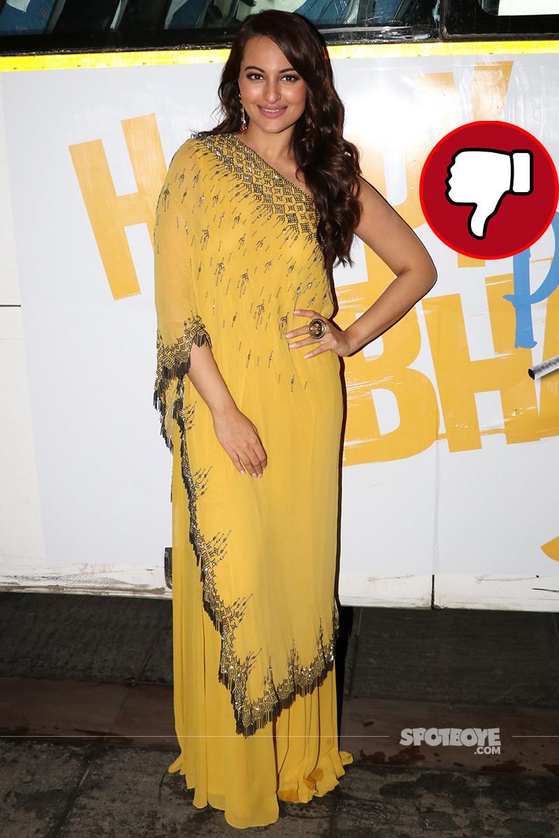 sonakshi sinha at the trailer launch of happy phirr bhag jayegi