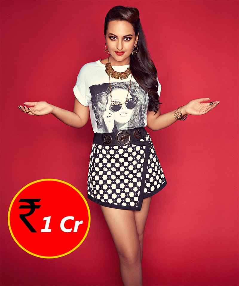 sonakshi sinha charges 1 cr for movies