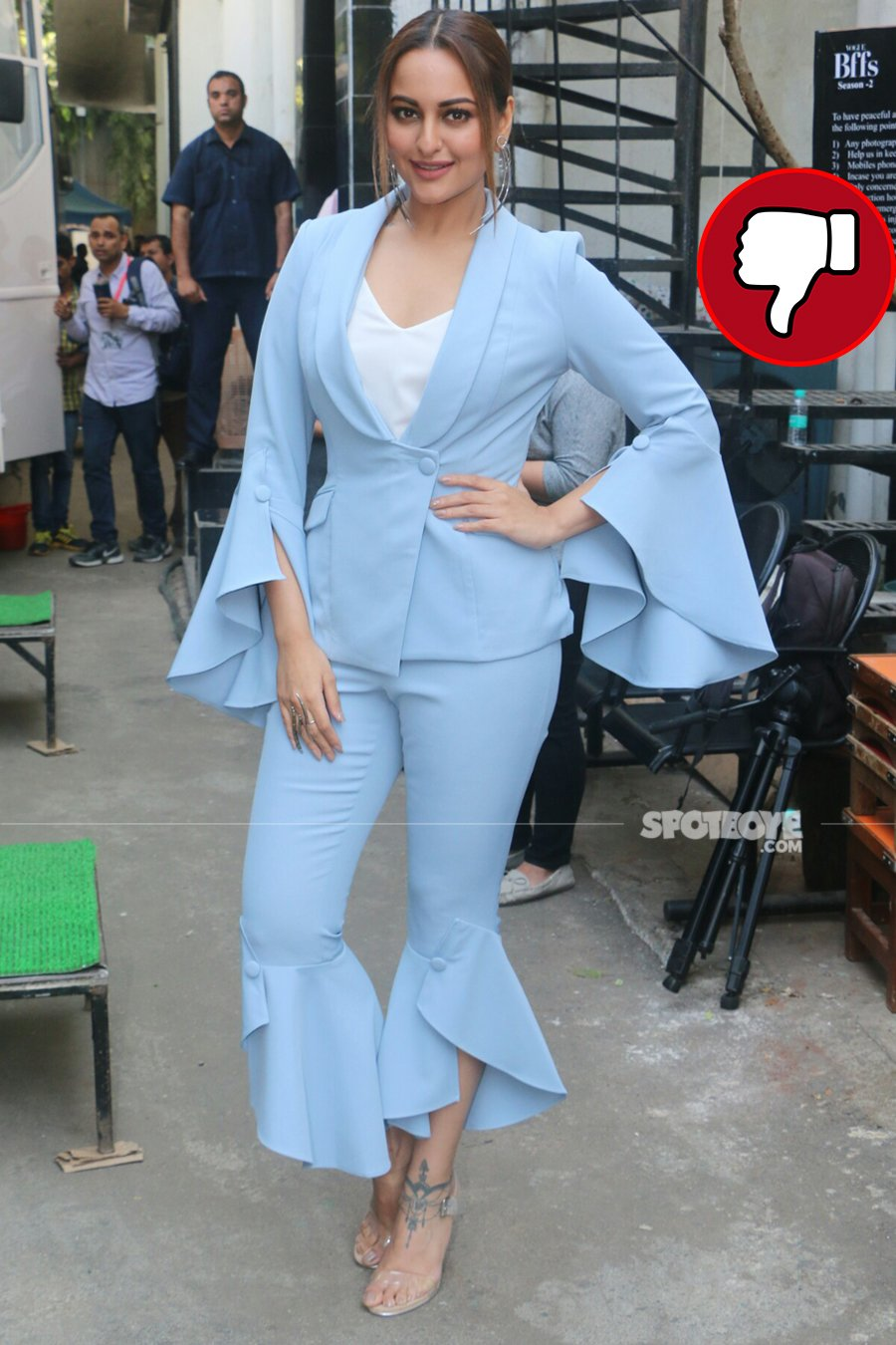 sonakshi sinha on vogue bff sets