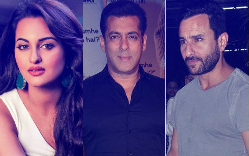 Salman Khan Granted Bail: Saif, Sonakshi Reach Galaxy Apartments