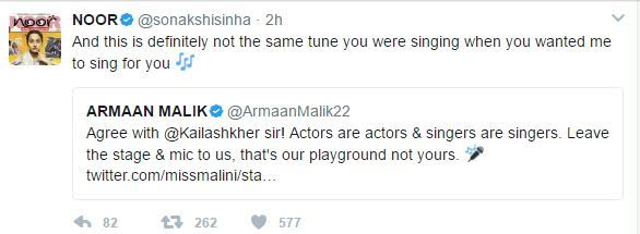 sonakshi sinhas tweet