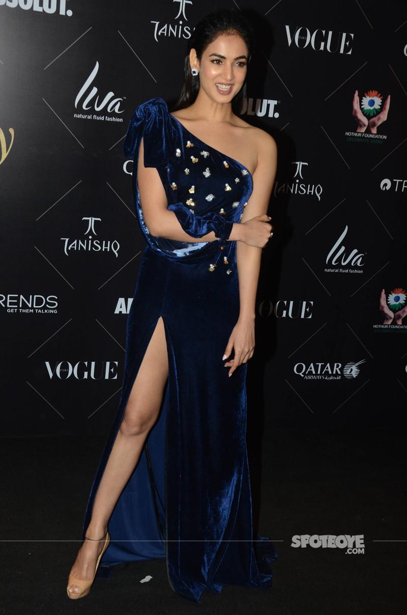 sonal chauhan at vogue beauty awards 2018